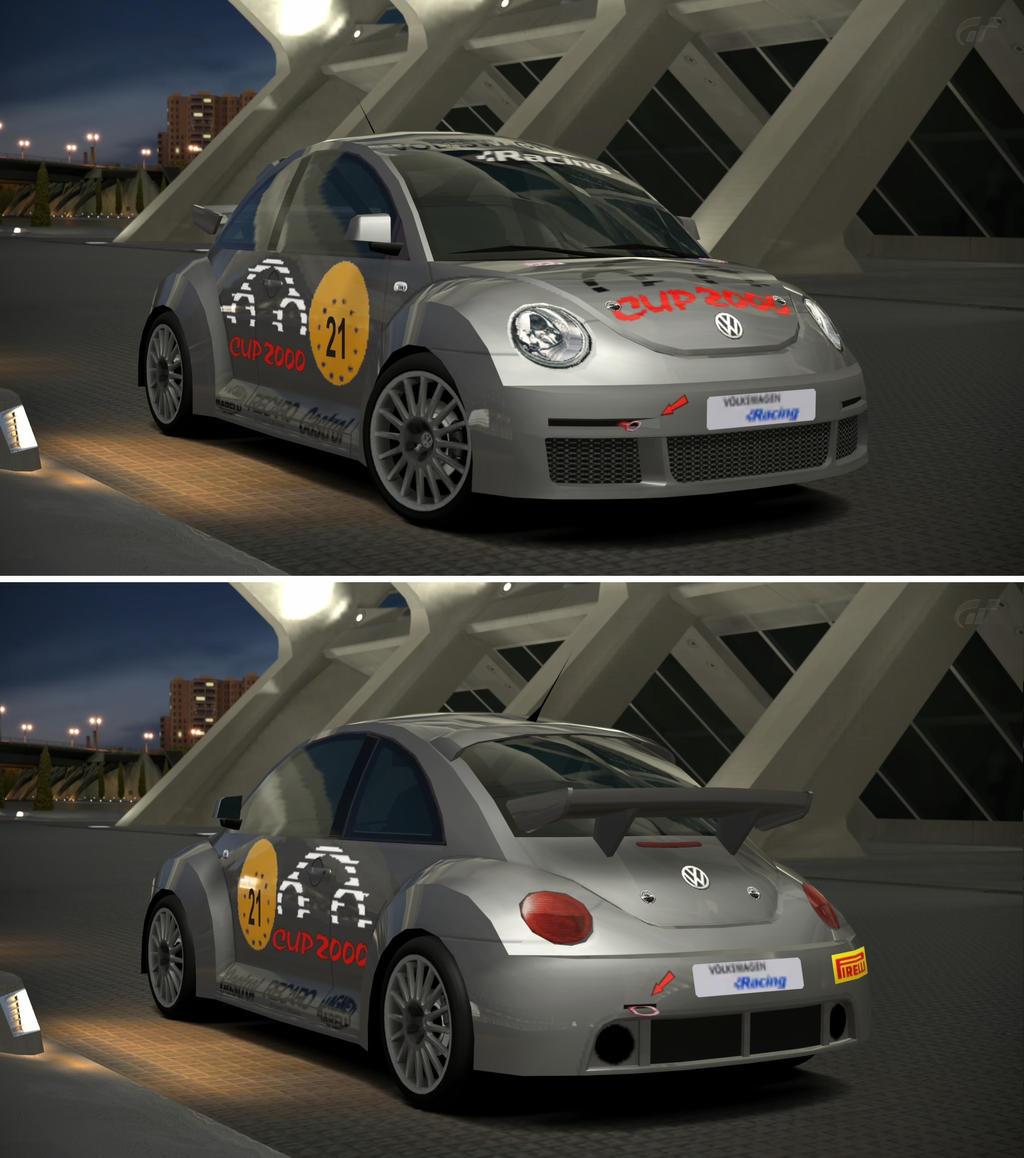 Volkswagen new beetle cup car 39 00 by gt6 garage on deviantart for Garage volkswagen 78 chambourcy