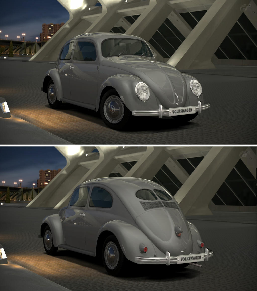 Volkswagen beetle 1100 standard type 11 39 49 by gt6 for Garage volkswagen paris 11