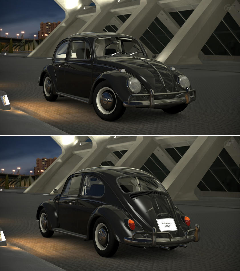 volkswagen 1200 39 66 by gt6 garage on deviantart. Black Bedroom Furniture Sets. Home Design Ideas
