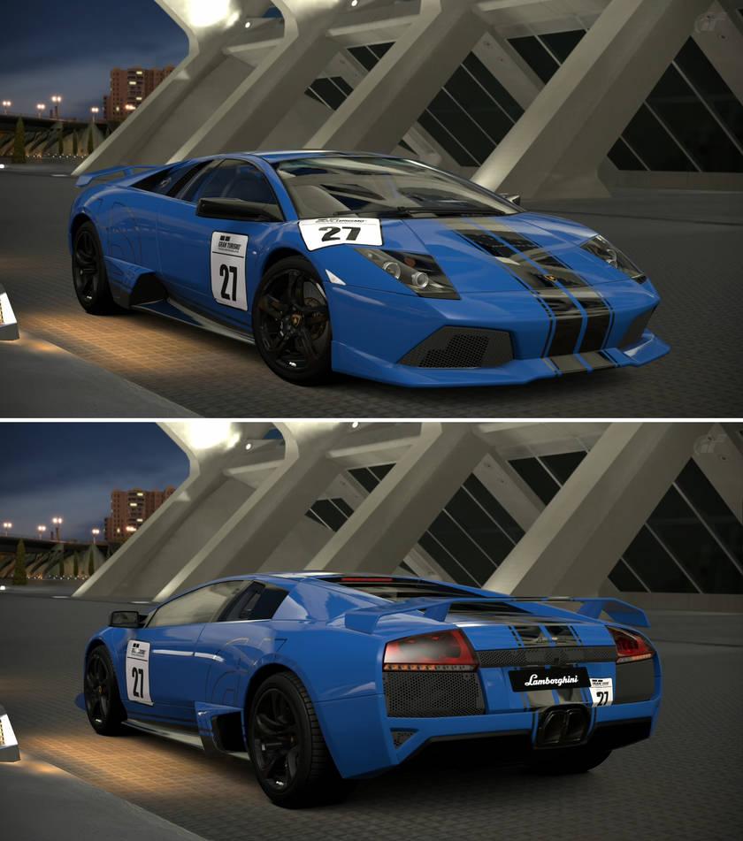 Lamborghini Murcielago Lp 640 Chrome Line By Gt6 Garage On Deviantart