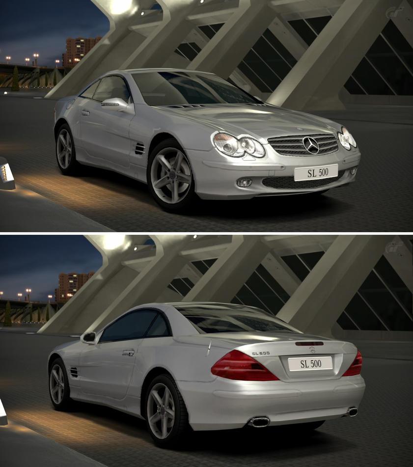 2017 Mercedes Benz Sl Suspension: Mercedes-Benz SL 500 (R230) '02 By GT6-Garage On DeviantArt