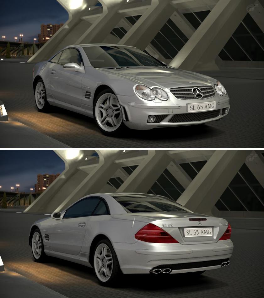Mercedes benz sl 65 amg r230 39 04 by gt6 garage on deviantart for Mercedes benz garages