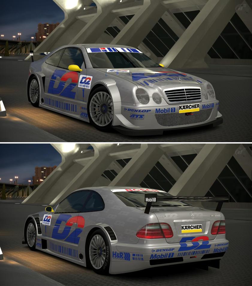 Mercedes benz clk touring car 39 00 by gt6 garage on deviantart for Mercedes benz touring car