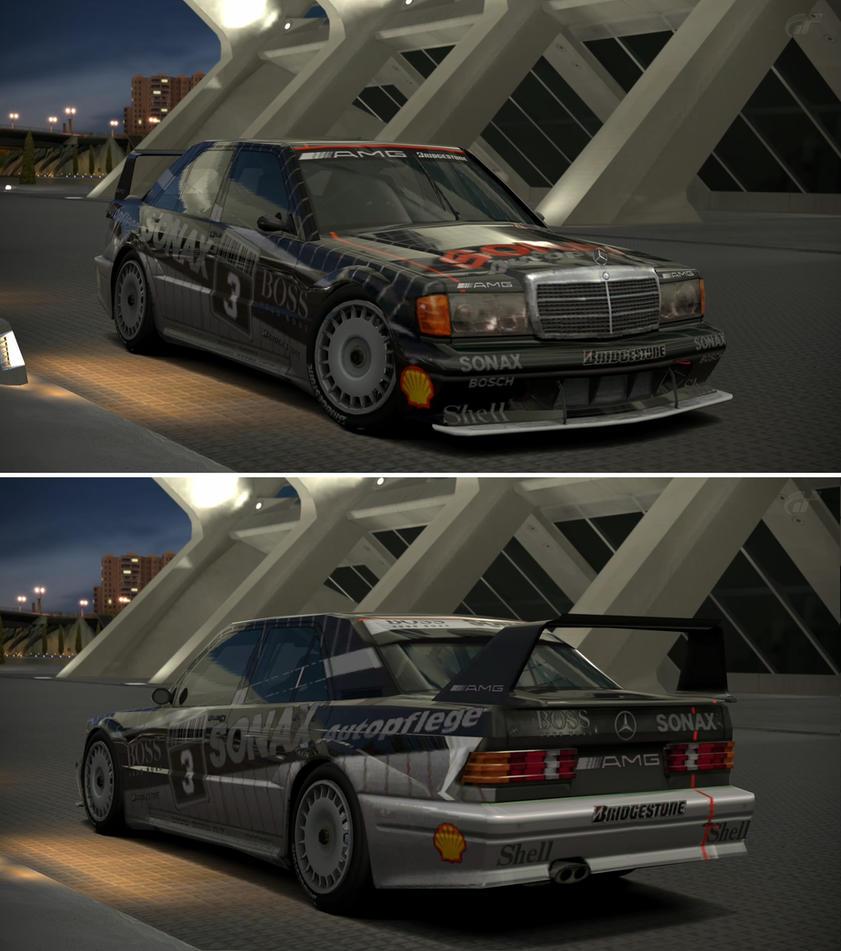 Mercedes benz amg mercedes 190 e 2 5 16 evolu by gt6 for Mercedes benz garages