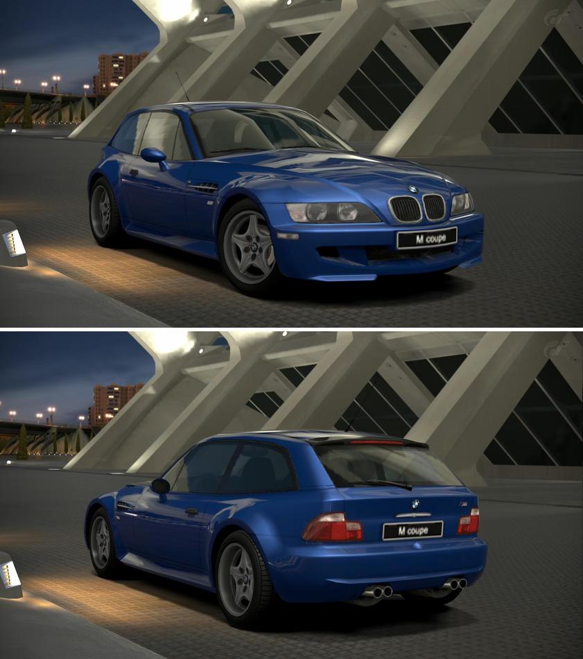 Bmw Z3 Gt: BMW M Coupe '98 By GT6-Garage On DeviantArt
