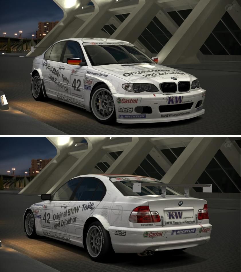 BMW 320i Touring Car '03 By GT6-Garage On DeviantArt