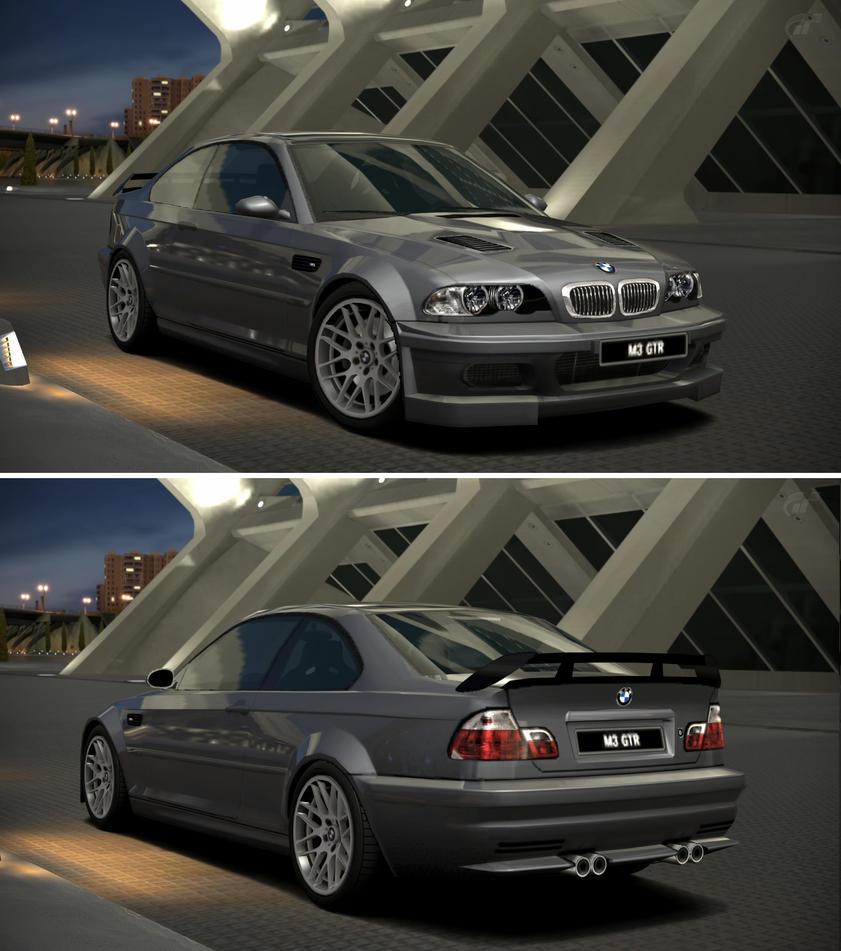 BMW M3 GTR '03 By GT6-Garage On DeviantArt