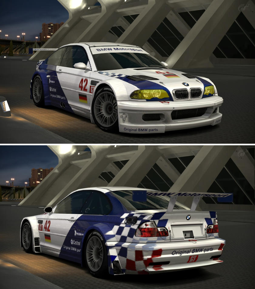 Bmw M3 Gtr: BMW M3 GTR Race Car '01 By GT6-Garage On DeviantArt