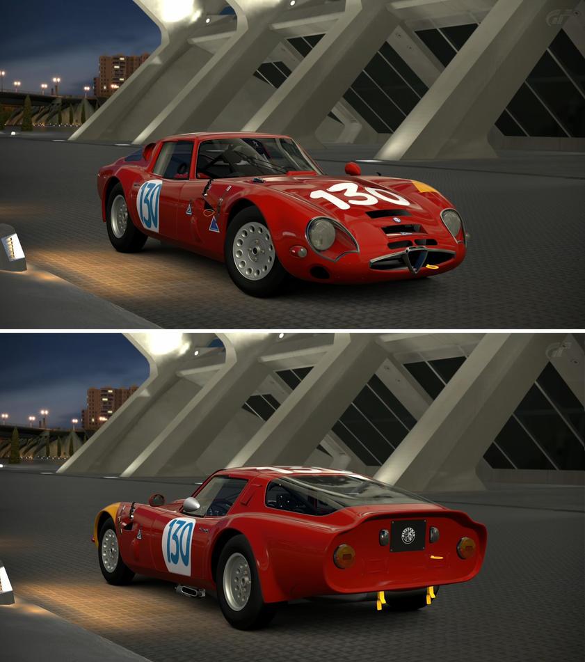 Alfa Romeo GIULIA TZ2 Carrozzata Da ZAGATO CN.A... By GT6