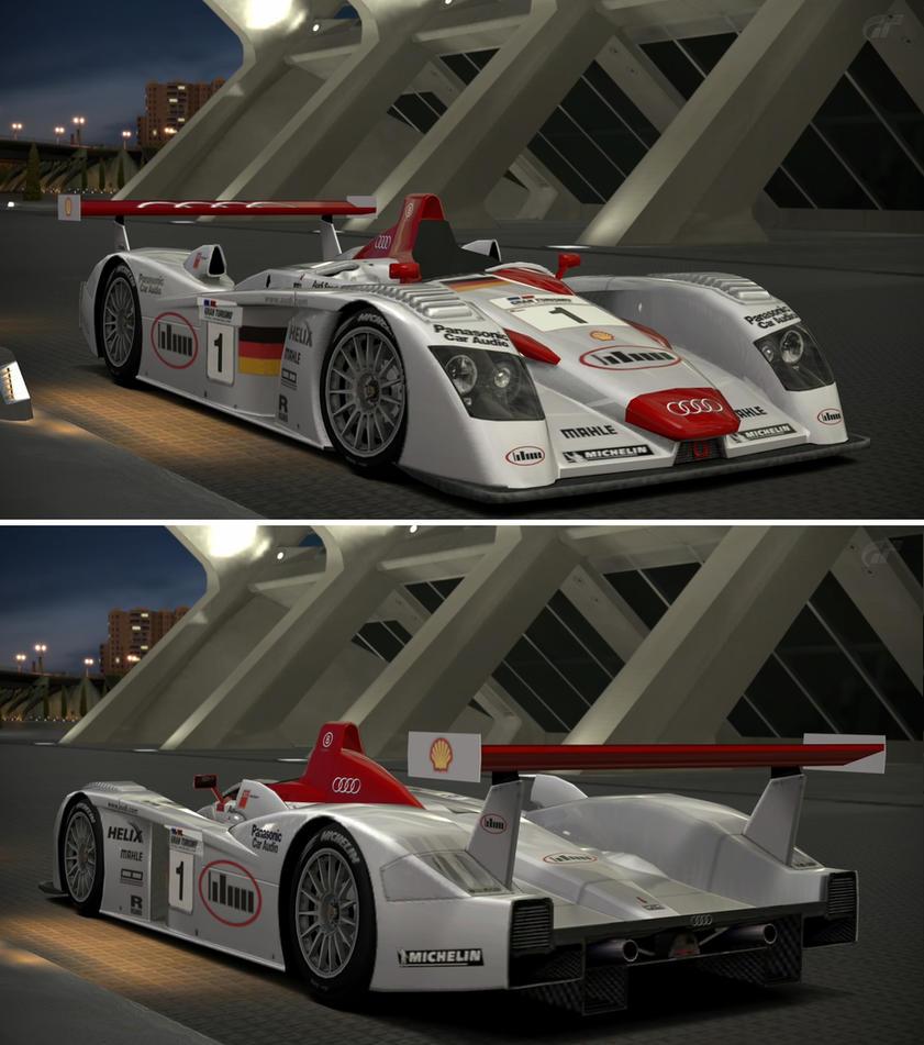 Audi R Race Car By GTGarage On DeviantArt - Audi car garage