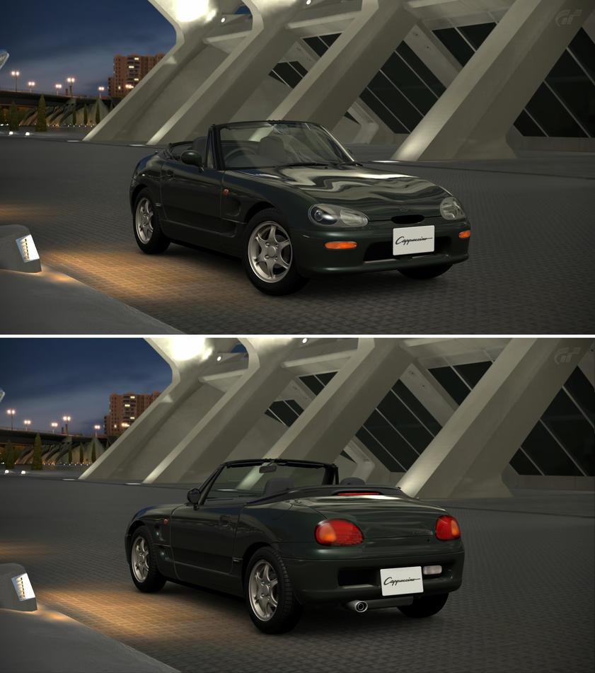 Tesla Motors Tesla Roadster 08 By Gt6 Garage On Deviantart: Suzuki Cappuccino (EA21R) '95 By GT6-Garage On DeviantArt
