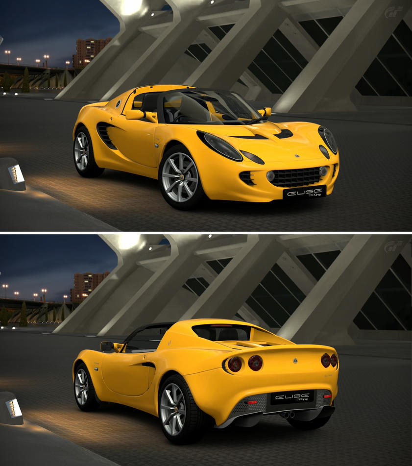 lotus elise 111r 39 04 by gt6 garage on deviantart. Black Bedroom Furniture Sets. Home Design Ideas