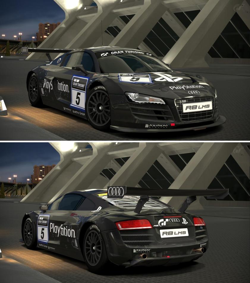 Audi R LMS Team PlayStation By GTGarage On DeviantArt - Audi r8 race car 01 gt6