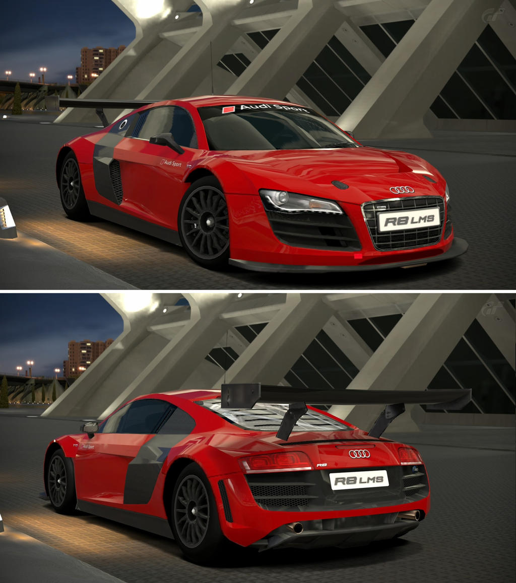 Audi R8 LMS '09 By GT6-Garage On DeviantArt