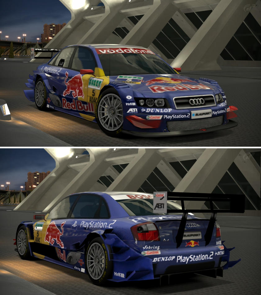 Audi A4 Touring Car '04 By GT6-Garage On DeviantArt