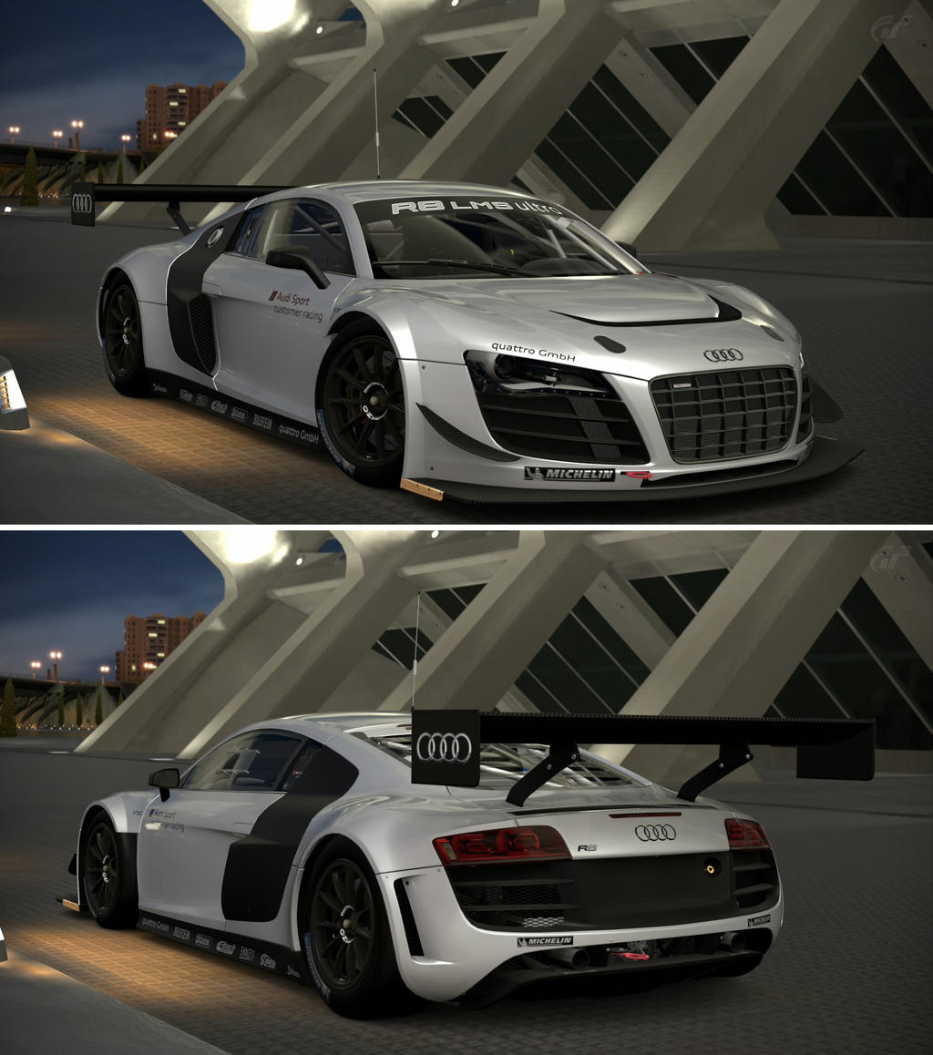 audi r8 lms ultra 39 12 by gt6 garage on deviantart. Black Bedroom Furniture Sets. Home Design Ideas