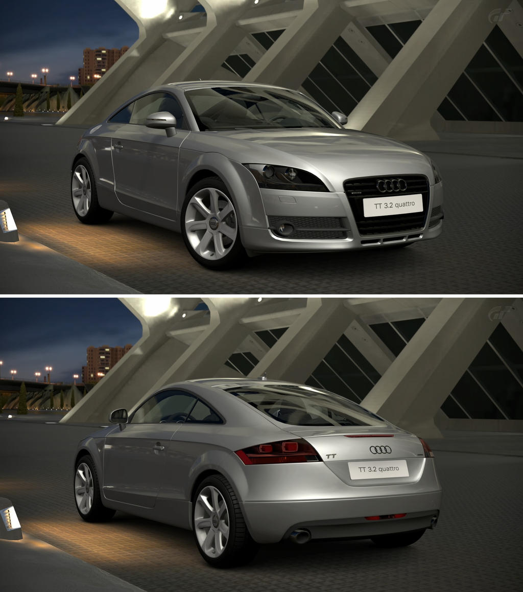 Audi TT Coupe 3.2 Quattro '07 By GT6-Garage On DeviantArt