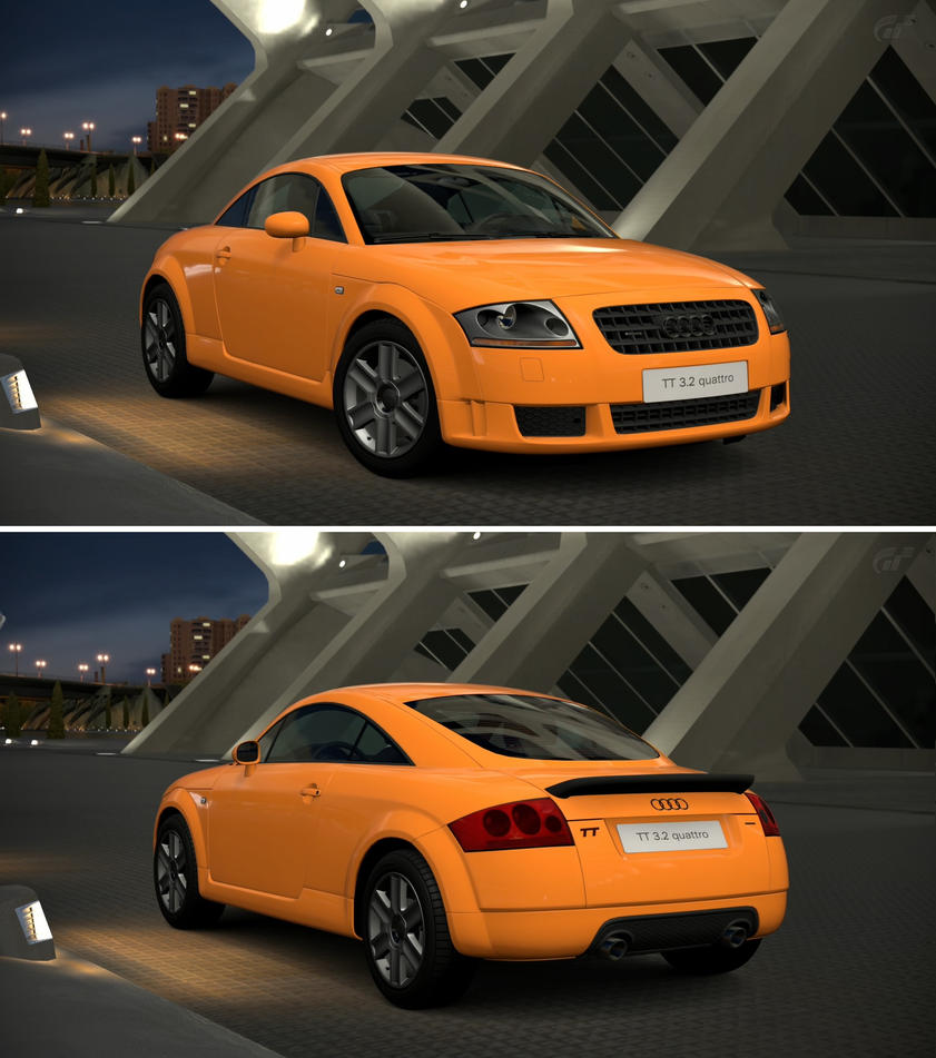 Audi TT Coupe 3.2 Quattro '03 By GT6-Garage On DeviantArt