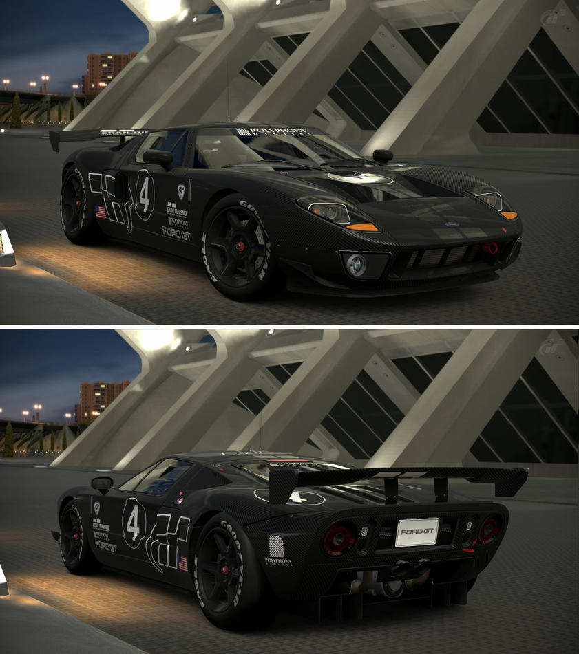 Gran Turismo Ford GT LM Spec II Test Car By GT6-Garage On