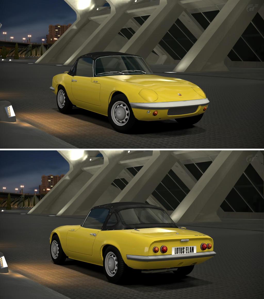 Lotus elan s1 39 62 by gt6 garage on deviantart for Garage lotus
