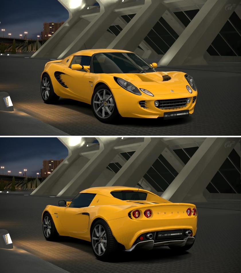Lotus elise 111s 39 03 by gt6 garage on deviantart for Garage lotus