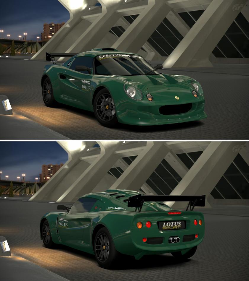 Lotus motor sport elise 39 99 by gt6 garage on deviantart for Garage lotus