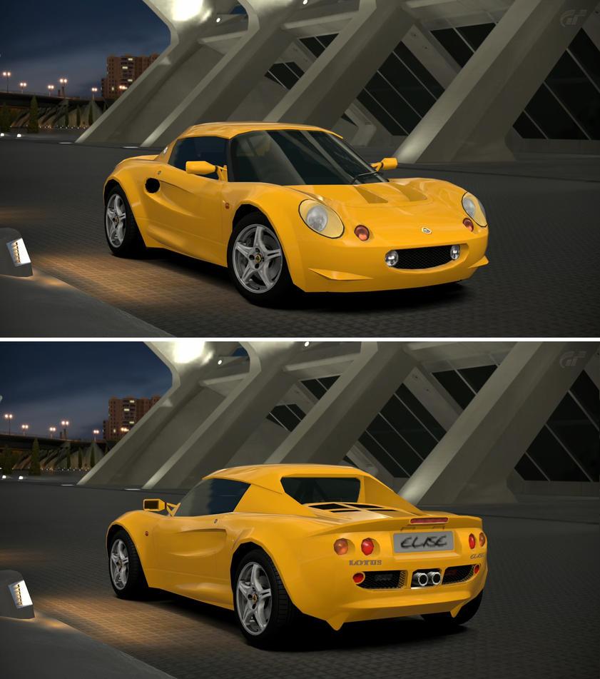 Lotus elise sport 190 39 98 by gt6 garage on deviantart for Garage lotus