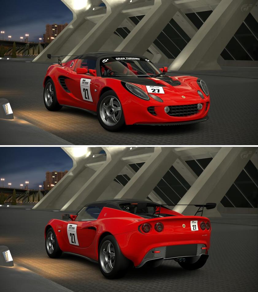 Lotus elise 111r race car 39 04 by gt6 garage on deviantart for Garage lotus