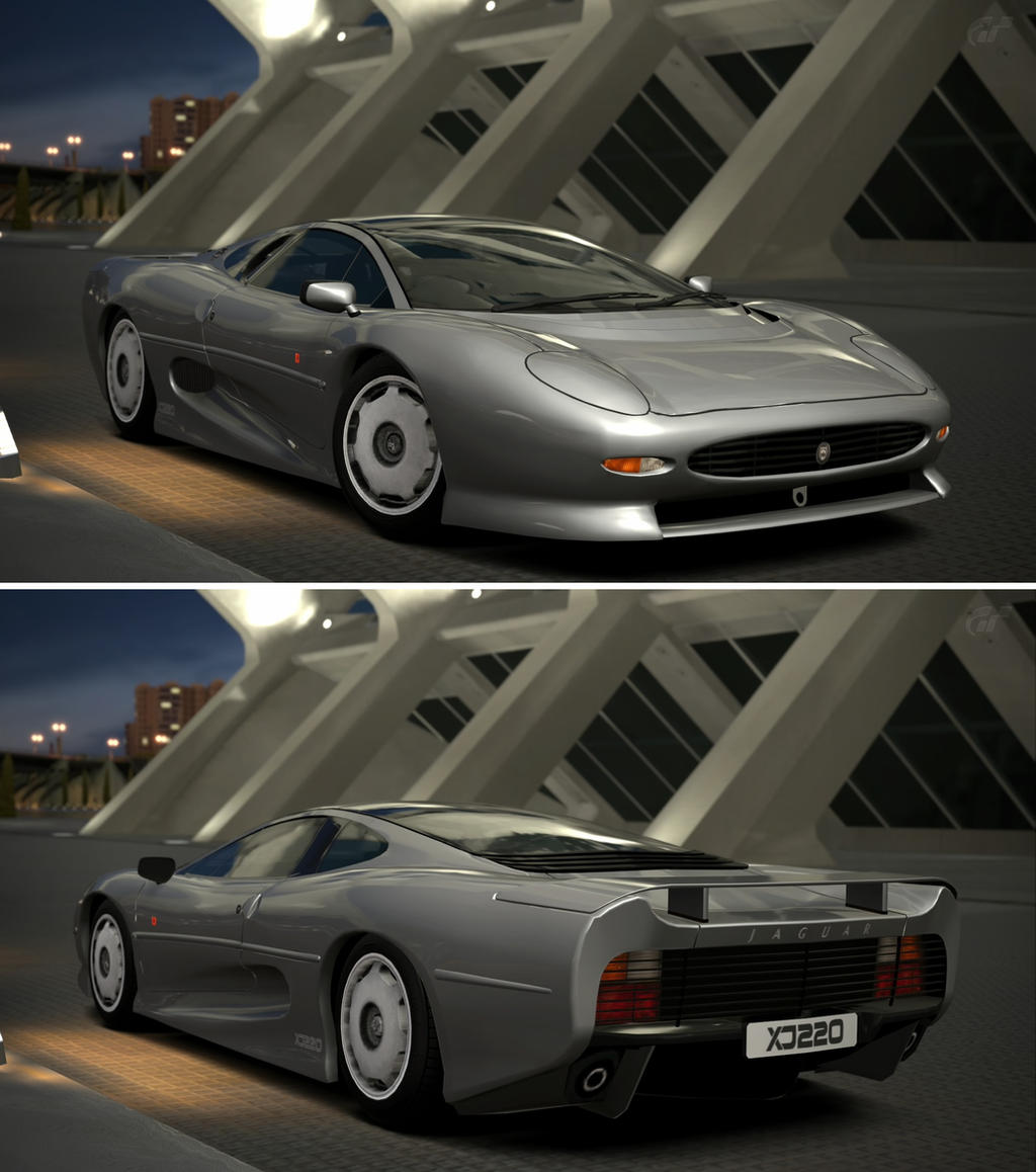 Jaguar xj220 39 92 by gt6 garage on deviantart for Garage volkswagen 92