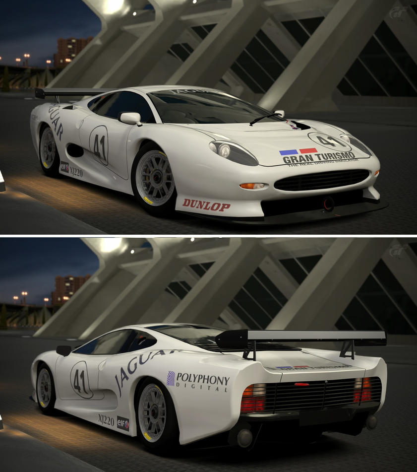 Gran Turismo  Jaguar Xj Lm Race Car