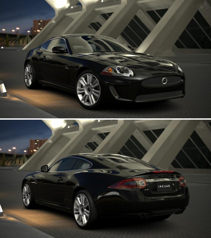 Jaguar xkr coupe 39 10 by gt6 garage on deviantart - Garage jaguar montpellier ...