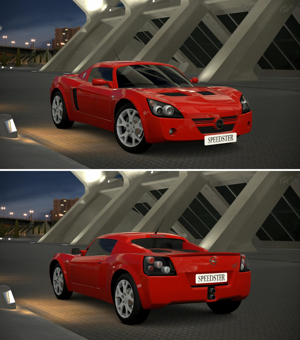 opel speedster turbo 39 00 by gt6 garage on deviantart. Black Bedroom Furniture Sets. Home Design Ideas