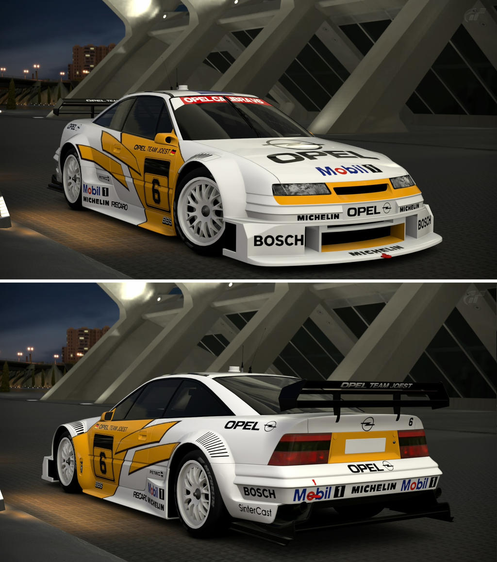 opel calibra touring car 39 94 by gt6 garage on deviantart
