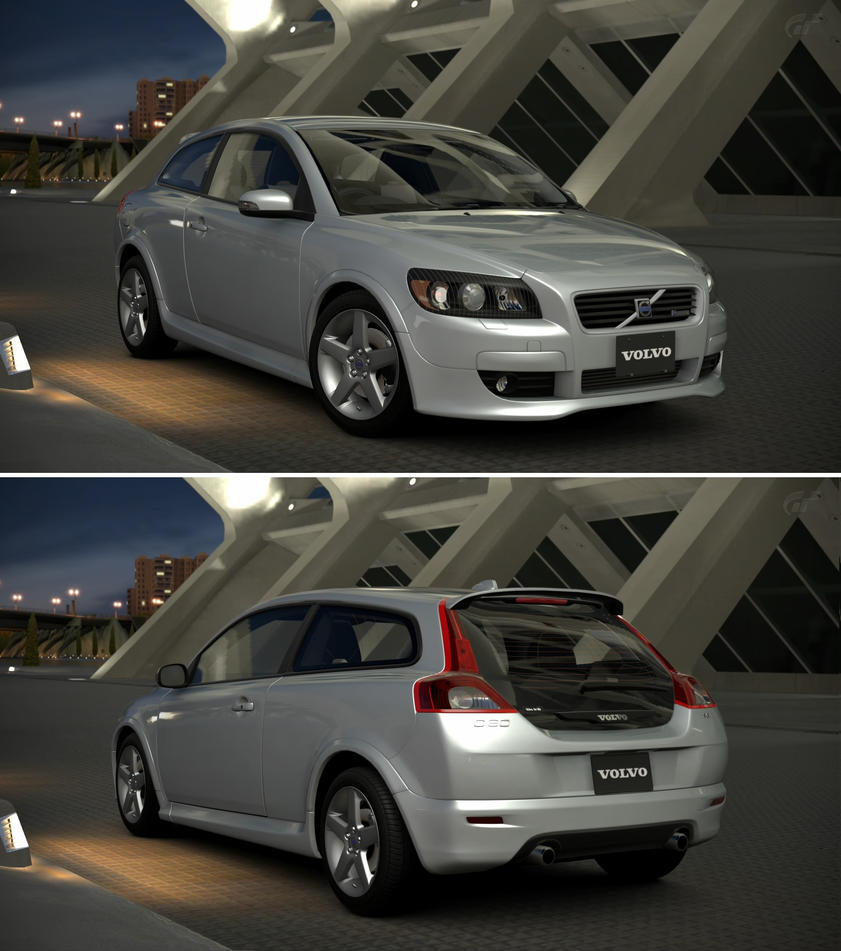 volvo c30 r design 39 09 by gt6 garage on deviantart. Black Bedroom Furniture Sets. Home Design Ideas