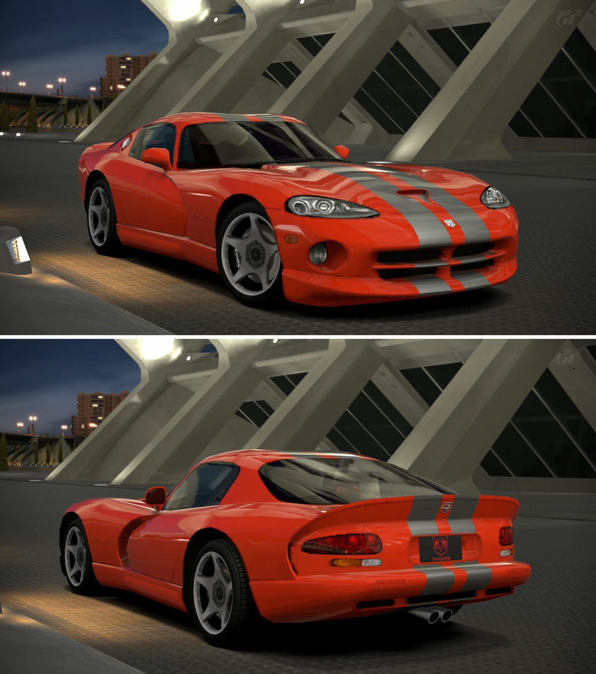 SRT Viper GTS '99 By GT6-Garage On DeviantArt