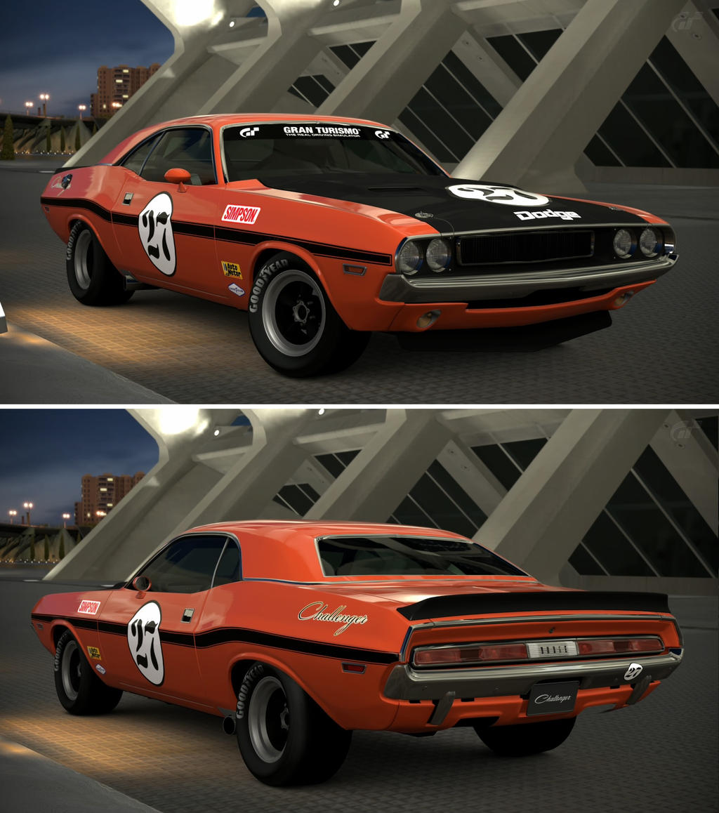 Dodge challenger rt race car 70 by gt6 garage on deviantart dodge challenger rt race car 70 by gt6 garage sciox Image collections
