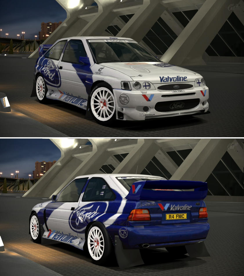 Ford Escort Rally Car \'98 by GT6-Garage on DeviantArt