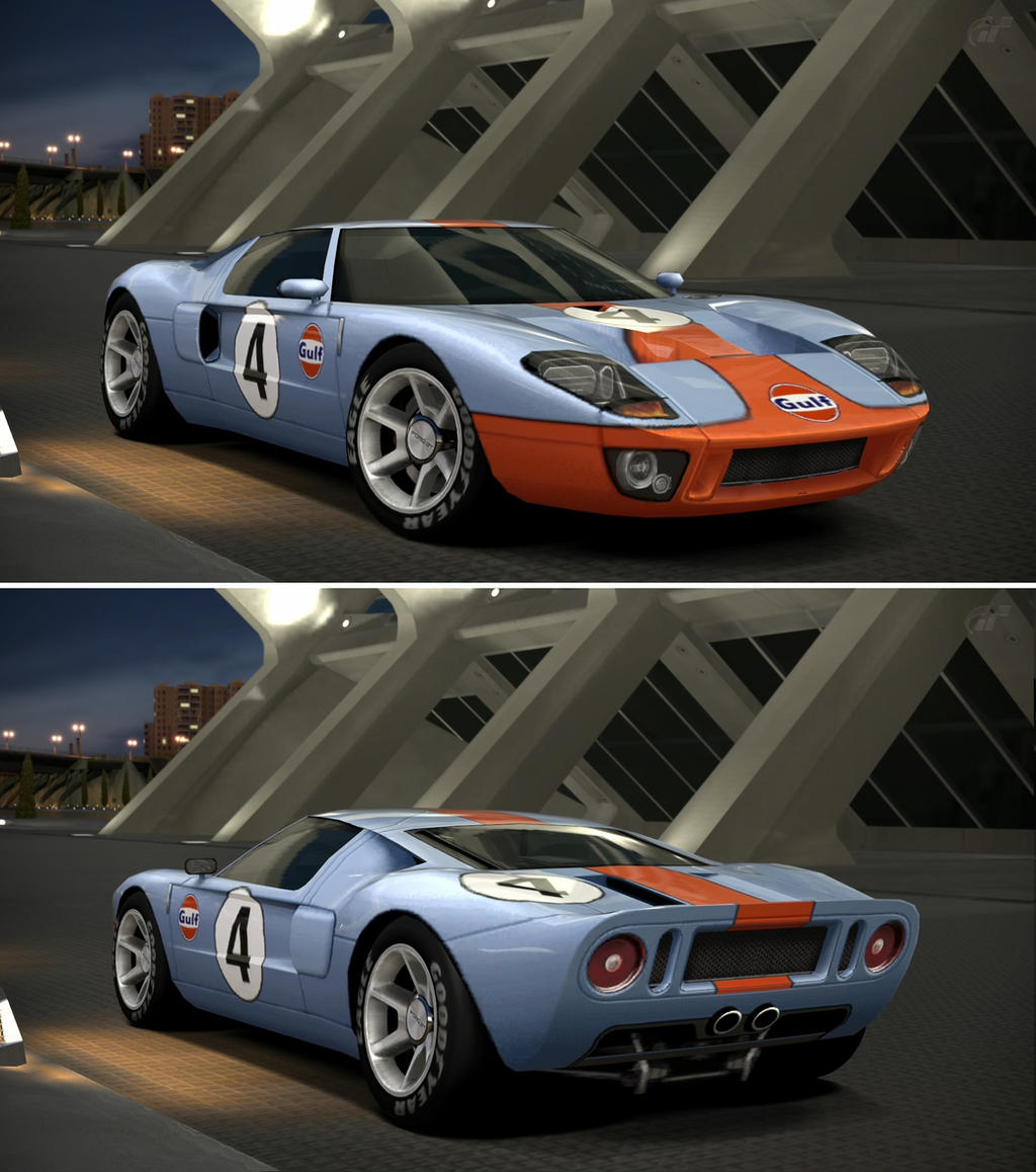 Ford gt lm race car by gt6 garage on deviantart for Garage gt auto