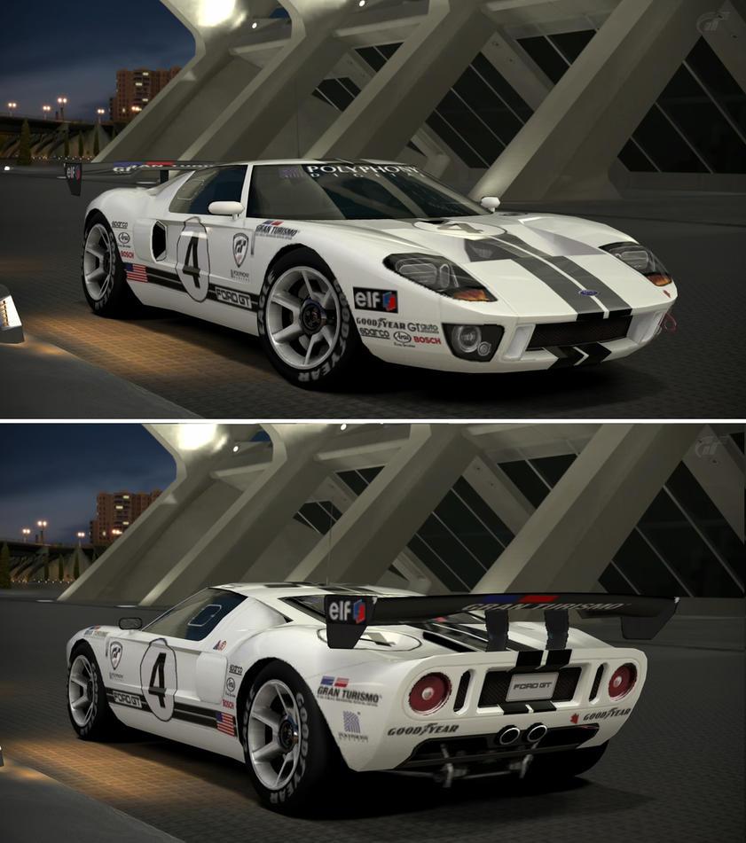 Ford Gt Lm Race Car Spec Ii By Gt Garage
