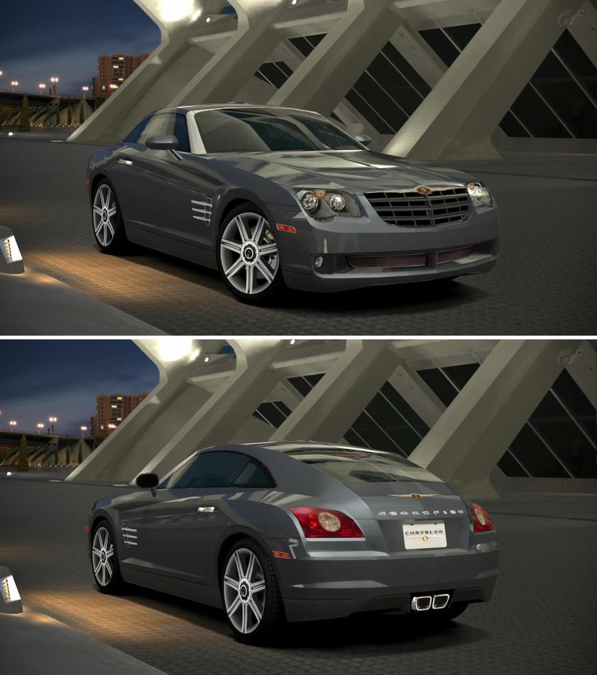Chrysler Crossfire '04 By GT6-Garage On DeviantArt