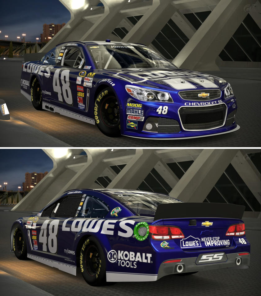 Lowe S Car Garages : Chevrolet jimmie johnson lowe s by gt