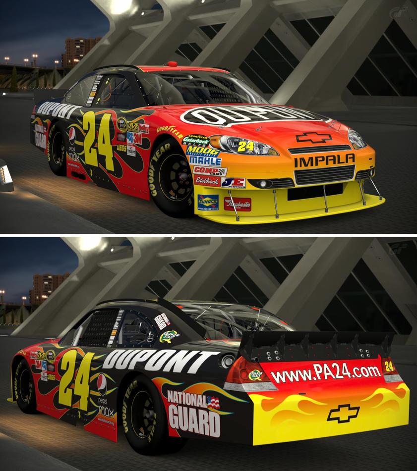 Jeff Gordon Chevrolet >> Chevrolet 2010 Jeff Gordon 24 Dupont Chevrolet By Gt6 Garage On