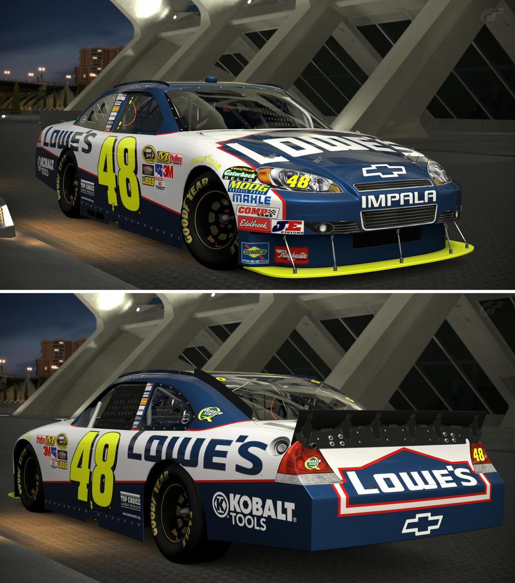Lowe S Car Garages : Chevrolet jimmie johnson lowe s chevro by gt