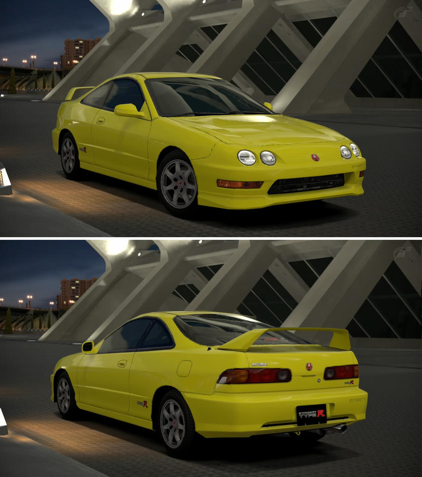 Acura INTEGRA TYPE R '01 By GT6-Garage On DeviantArt