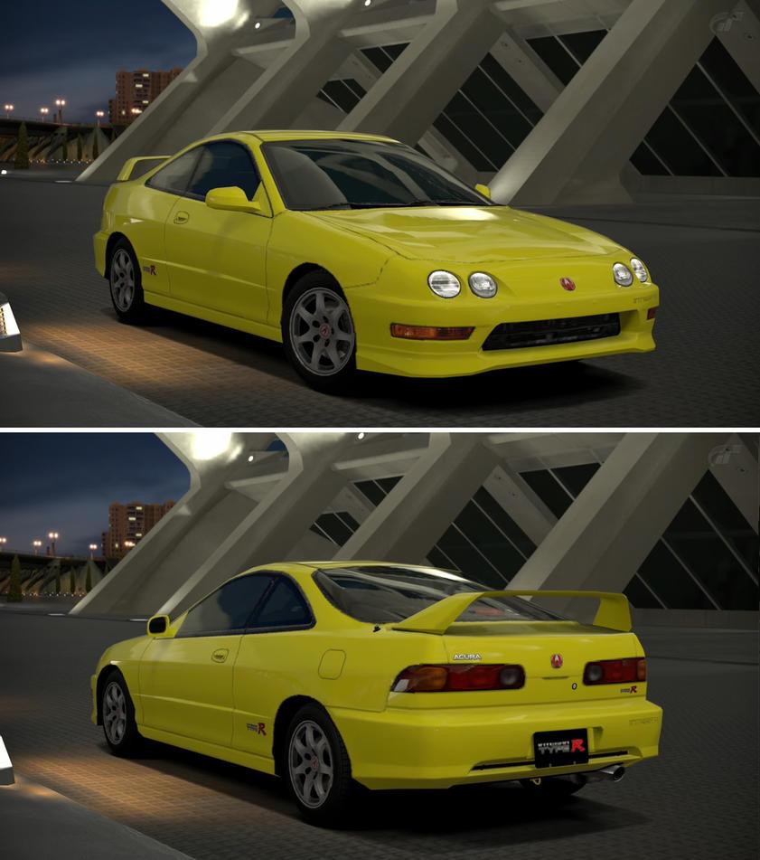 Acura INTEGRA TYPE R '01 By GT6-Garage On DeviantArt