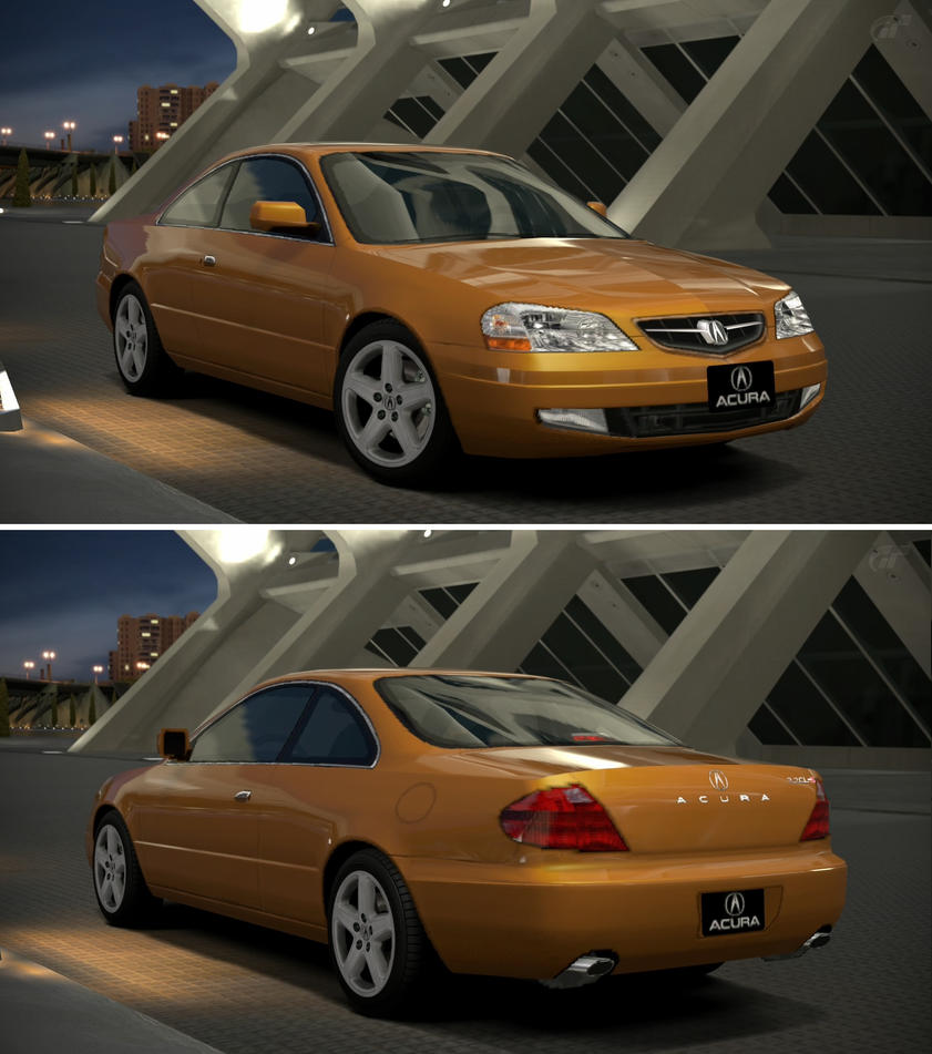 Acura CL 3.2 Type-S '01 By GT6-Garage On DeviantArt