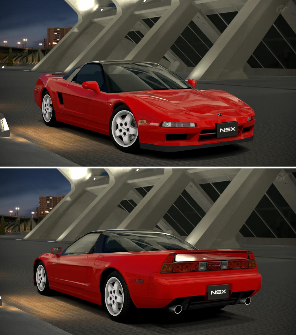 Acura NSX Coupe '97 By GT6-Garage On DeviantArt