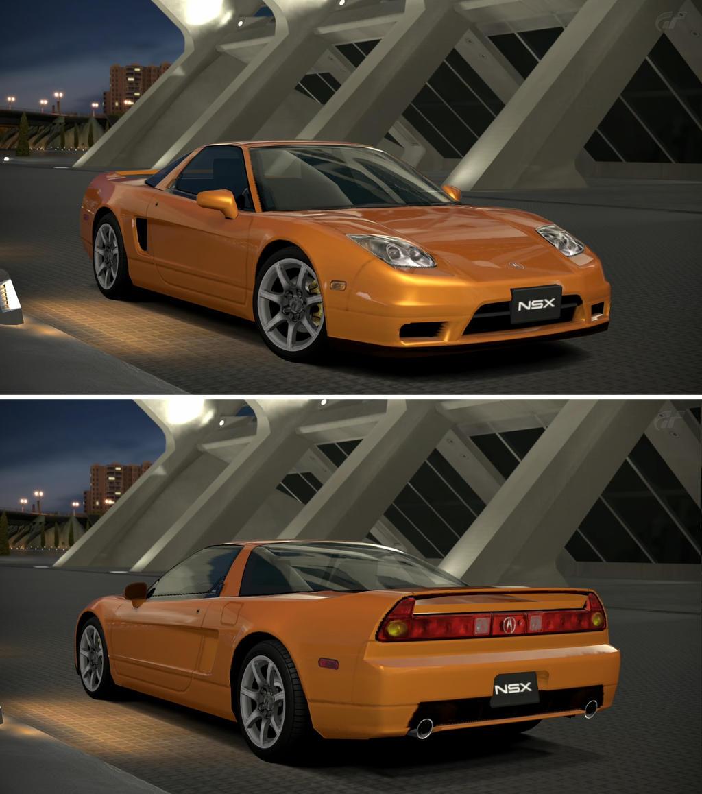 Acura Nsx: Acura NSX '04 By GT6-Garage On DeviantArt