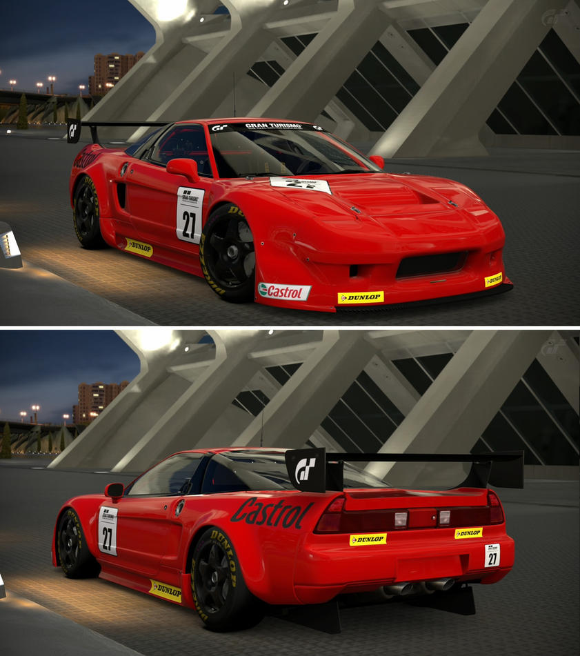 Acura NSX LM Race Car '91 By GT6-Garage On DeviantArt