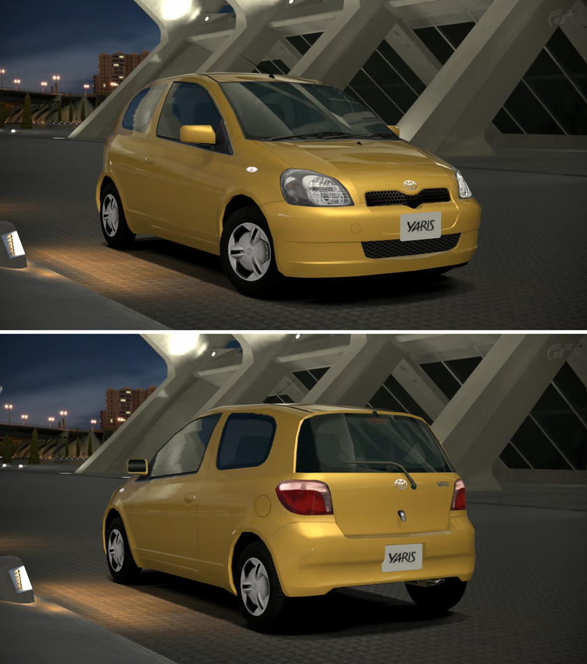 Toyota Yaris 99 #11